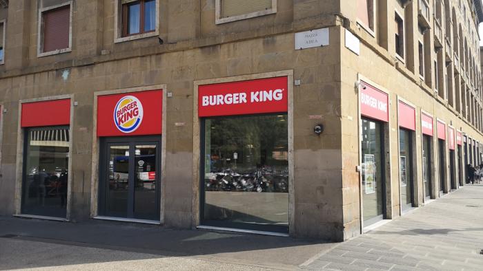 Santa Maria Novella Firenze - Amico Burger King
