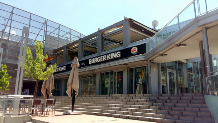 Piazza Alberti - Firenze - Amico Burger King