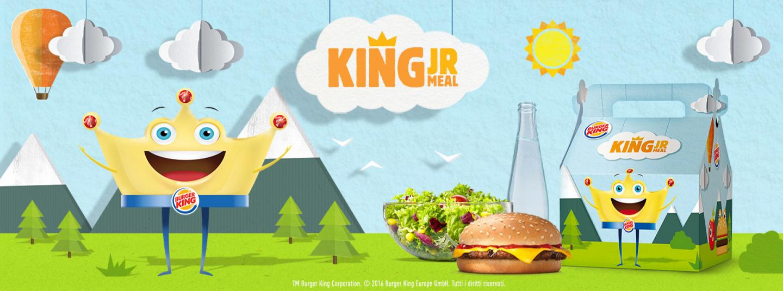 QUI, IL BAMBINO È IL KING - Amico Burger King