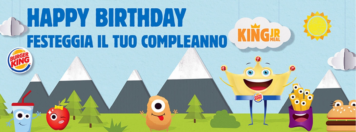 COMPLEANNI - Amico Burger King