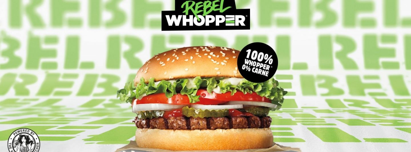 REBEL WHOPPER - Amico Burger King